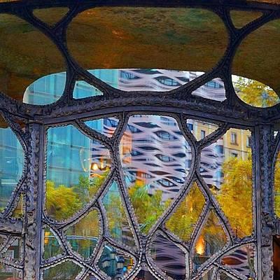 Photograph - Random #reflection Through A Window In by Dante Harker