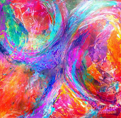 Painting - Random Sassy by Expressionistart studio Priscilla Batzell