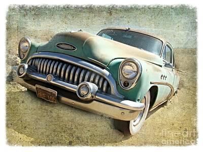 Randsburg Buick Art Print