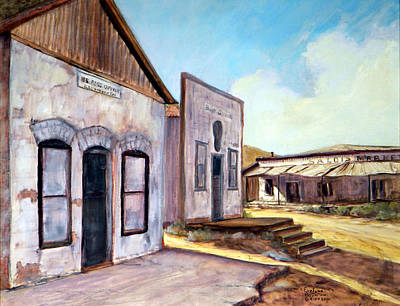 Painting - Randsburg California by Evelyne Boynton Grierson