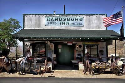 Photograph - Randsburg Inn by Hugh Smith