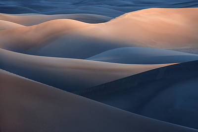 Sand Dune Photograph - Range Of Colors by Jure Kravanja