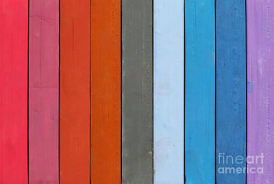 Range Of Natural Colors Art Print