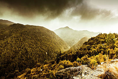 Photograph - Range Of Scenic Country by Jorgo Photography - Wall Art Gallery
