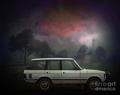 Digital Art - Range Rover 1993 by Edmund Nagele