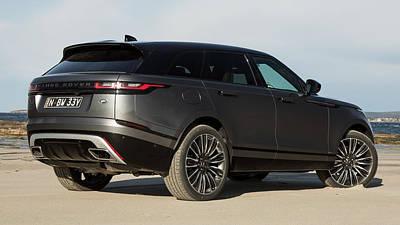 Digital Art - Range Rover Velar by Super Lovely
