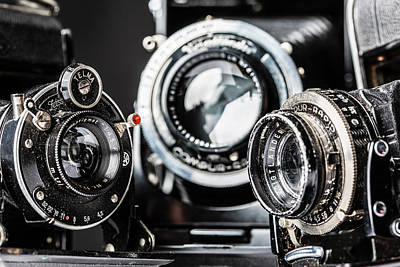Photograph - Rangefinders by SR Green