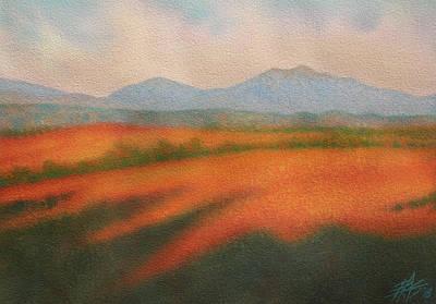 Painting - Rangeland by Robin Street-Morris
