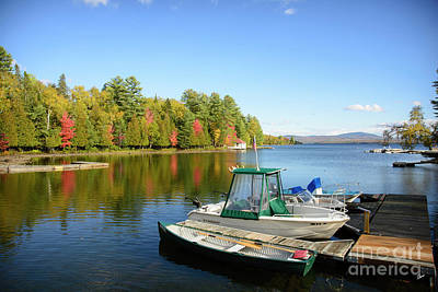 Photograph - Rangeley Lake Boats by Alana Ranney