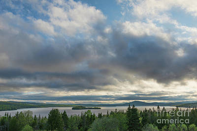 Photograph - Rangeley Lake by Sharon Seaward