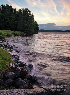 Photograph - Rangeley Lake State Park In Rangeley Maine  -53215-53218 by John Bald