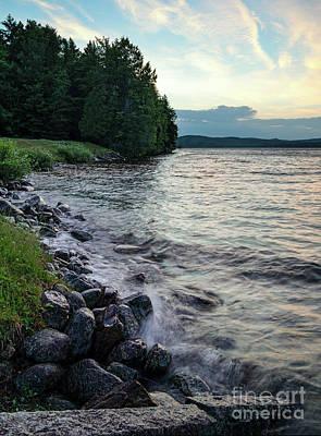 Photograph - Rangeley Lake State Park, Rangeley, Maine 53215-53218 by John Bald