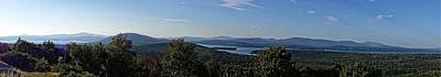 Rangeley Lake Sunset Panoramic Art Print