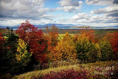 Photograph - Rangeley Overlook by Alana Ranney