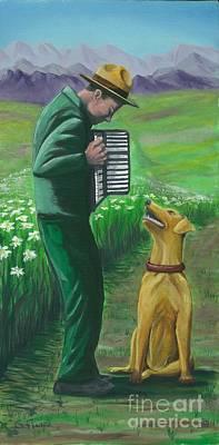 Art Print featuring the painting Ranger Rick by Gail Finn