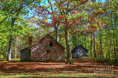 Photograph - Ranger's Cabin by Tom Claud