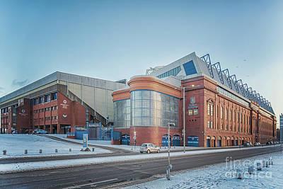 Photograph - Rangers Ibrox Stadium by Antony McAulay