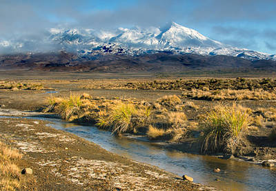 Photograph - Rangipo Desert by Nicholas Blackwell
