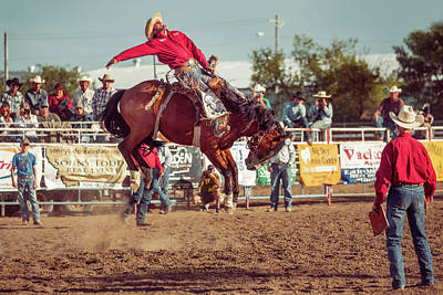 Quarter Horses Photograph - Rank Ride by Todd Klassy