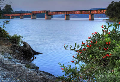 Photograph - Rankin Bottoms Rr Bridge by Douglas Stucky