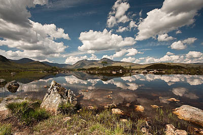 Photograph - Rannoch Moor by Colette Panaioti