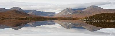 Photograph - Rannoch Moor Panorama by Stephen Taylor