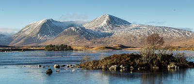 Rannoch Moor Digital Art - Rannoch Moor, Scotland by Pat Speirs