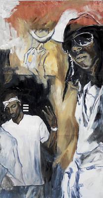 Lil Wayne Celebrity Painting - RAP by Jani Heinonen