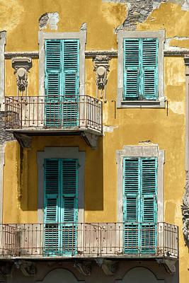 Photograph - Rapallo Facade by Al Hurley