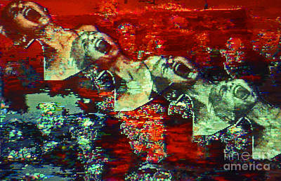 Digital Art - Rape In Progress by George D Gordon III
