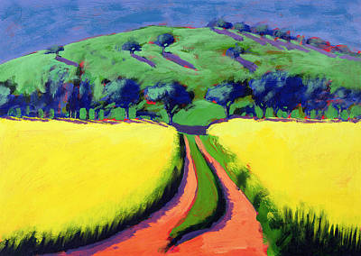 Golden Sunlight Painting - Rapeseed by Paul Powis