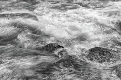 Photograph - Rapid Water  by Chris Buff