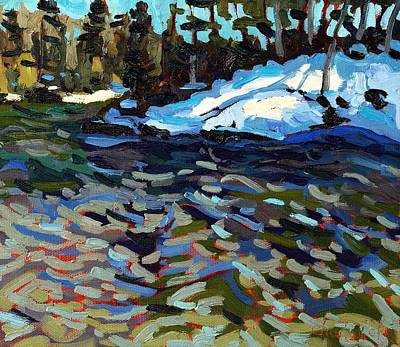 Forecaster Painting - Rapid Water by Phil Chadwick