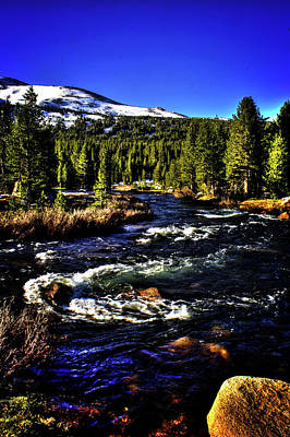 Photograph - Rapids Along The Tioga Pass Road by Roger Passman