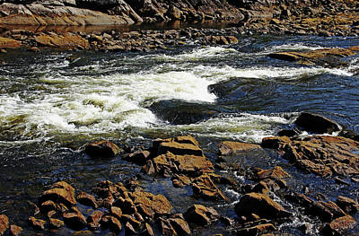 Photograph - Rapids And Rocks by Debbie Oppermann