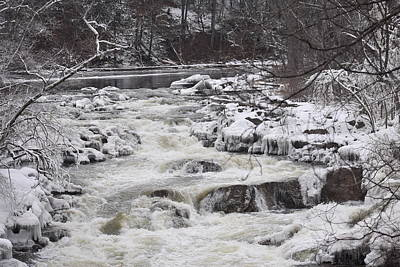 Photograph - Rapids At Bull's Bridge 1 by Nina Kindred