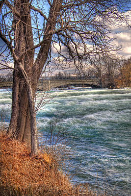 Photograph - Rapids In Fall by Tammy Wetzel