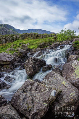 Photograph - Rapids Of Snowdonia by Ian Mitchell