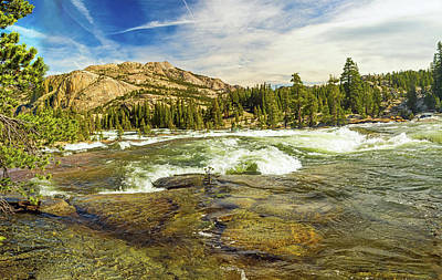 Photograph - Rapids On The Tuolumne East Of Glen Aulin by Steven Barrows