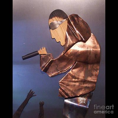 Rapper Art Print by Jeff  Williams