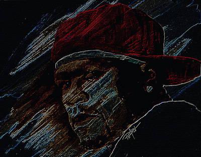 Painting - Rapper by Laur Iduc
