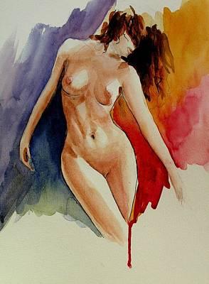 Rapsody 1 Art Print by Anna Wigandt