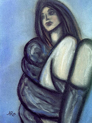 Rapt Art Print by Natalie Roberts
