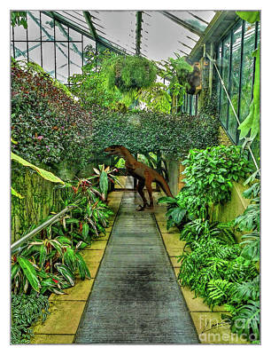 Digital Art - Raptor Seen In Kew Gardens by Lance Sheridan-Peel