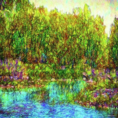 Digital Art - Rapture Of Water by Joel Bruce Wallach