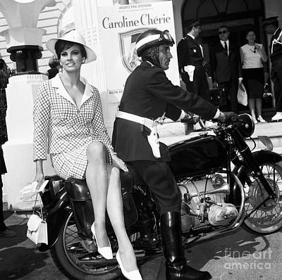 Welch Photograph - Raquel Welch At The Cannes Film Festival May 1966. by The Titanic Project