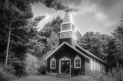 Photograph - Raquette Lake Chapel by Guy Whiteley