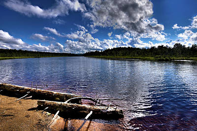 Photograph - Raquette Lake Shore by David Patterson