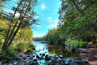 Photograph - Raquette River by David Patterson