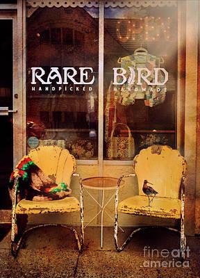 Photograph - Rare Bird by Craig J Satterlee